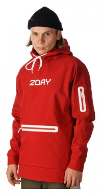 Худі 2DAY Future Hoodie 2.0 Red