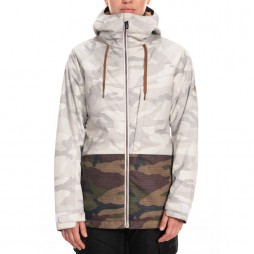 Куртка 686 19/20 Wms Athena Insulated Jacket / White Camo Colorblock