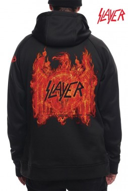 Худи 686 19/20 Slayer Bonded Flc Pullover / Black