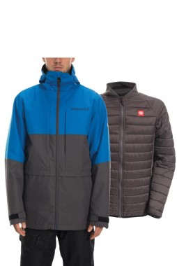 Куртка 686 19/20 Smarty 3-In-1 Form Jacket / Strata Blue Colorblock
