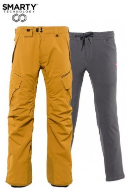Штаны 686 20/21 SMARTY 3-in-1 Cargo Pant Golden Brown