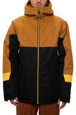 Куртка 686 20/21 Static Insulated Jacket Golden Brown Colorblock
