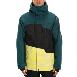 Куртка 686 19/20 Geo Insulated Jacket / Sulphur Camo Colorblock