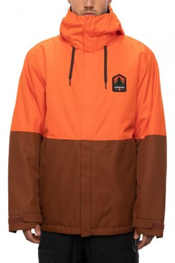 Куртка 686 20/21 Foundation Insulated Jacket Solar Orange Colorblock