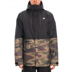Куртка 686 19/20 Foundation Insulated Jkt / Dark Camo Colorblock