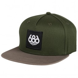 Кепка 686 Knockout Snapback Hat / Surplus Green