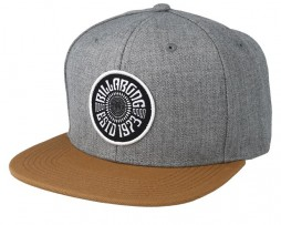 Кепка Billabong Spirit Walker Snapback grey heather