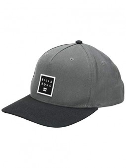 Кепка Billabong Stacked Snapback charcoal