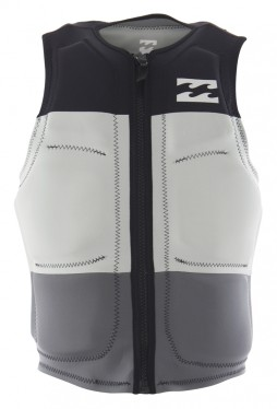 Жилет для вейка BILLABONG 17 TRIBONG WAKE VEST Black Grey