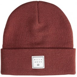 Шапка Billabong Stacked oxblood