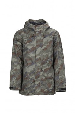 Куртка Bonfire 19/20 VECTOR JACKET INSULATED Olive/Camo)