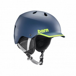 Шлем Bern 19/20 Watts EPS Matte Navy/Hyper Green Trim