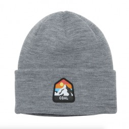 Шапка COAL The Peak Beanie Heather Grey