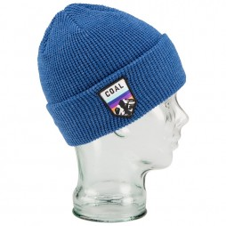 Шапка COAL The Summit Beanie Heather Royal Blue