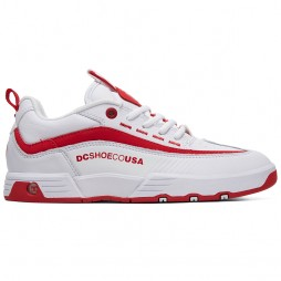 Кеди DC LEGACY 98 SLM WHITE / WHITE / TRUE RED