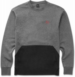 Кофта Es Cera Tech Crew black / heather