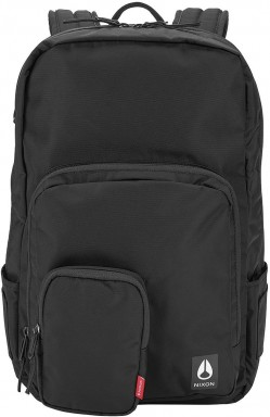 Рюкзак Nixon Daily 20l all black nylon C2954-1148-00