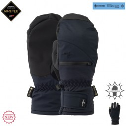 Варежки Pow 19/20 WS Cascadia Gtx Long Mitt +Warm Black