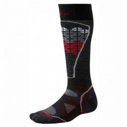 Носки SmartWool Mens PhD Ski Light Pattern black/red