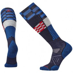 Носки SMARTWOOL Phd Ski Light Elite Pattern navy