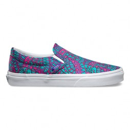Кеды VANS 16 U CLASSIC SLIP-ON (LIBERTY)SATCHMO/True White