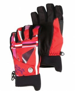 Рукавички 686 FRACTURE PIPE GLOVE RED FRACTURE